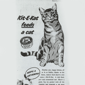 Kitekat - adv 1953