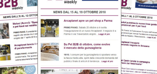 Pet B2B Weekly Arcaplanet Parma