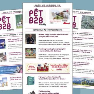 Pet B2B Weekly nuovo amministratore delegato Maxi Zoo Italia