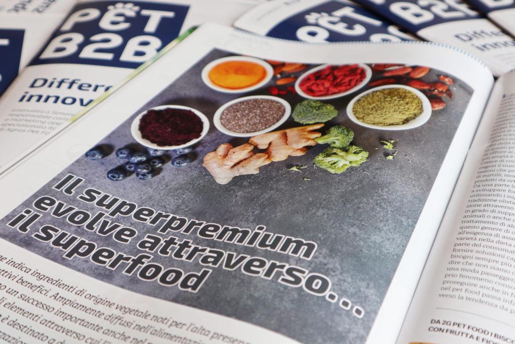 Pet B2B pet food superfood