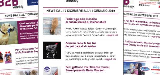 Pet B2B Weekly codice etichettatura Fediaf