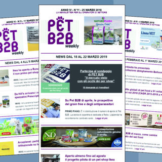 Pet B2B Weekly pet shop