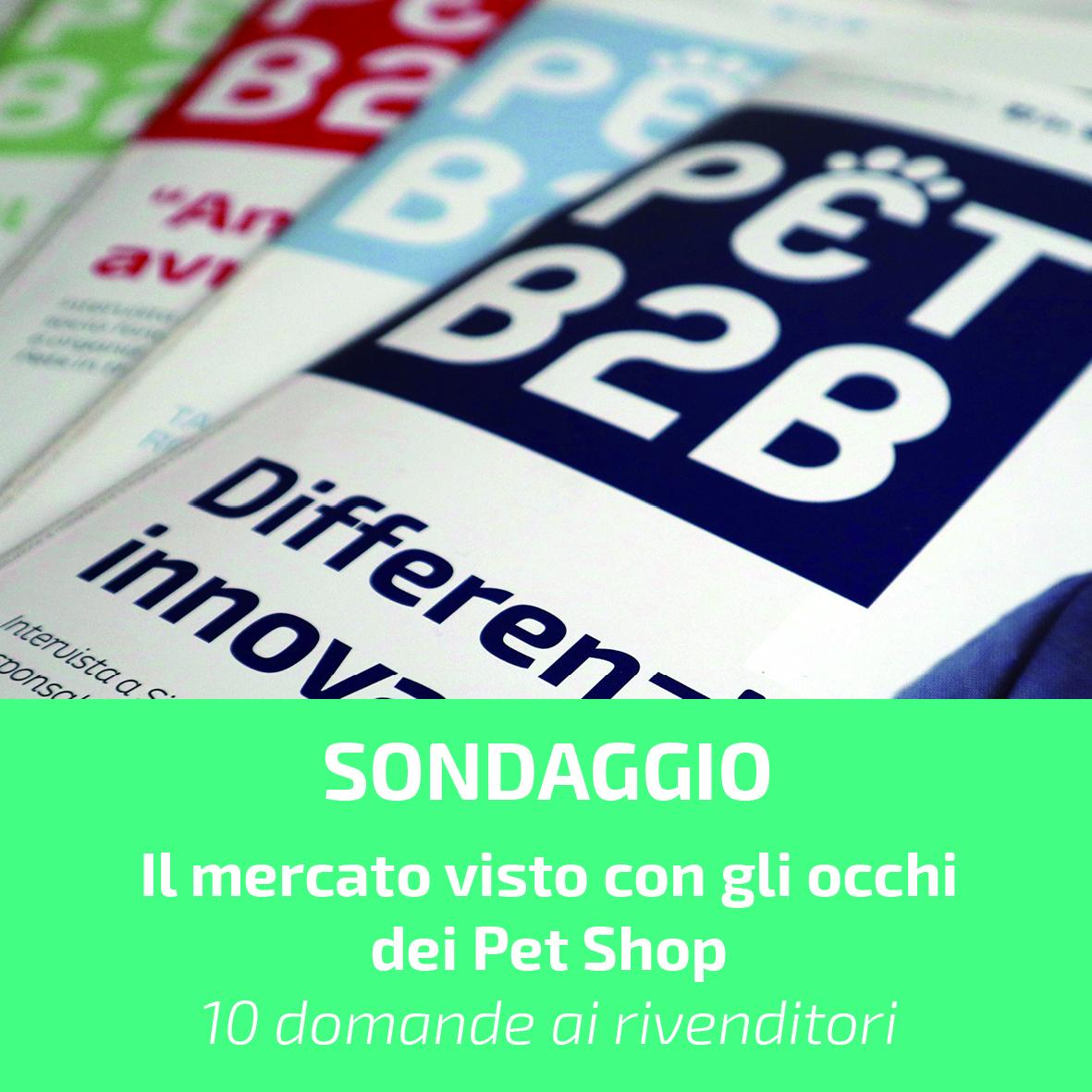 Pet B2B sondaggio pet shop