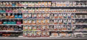 mercato snack food gatti