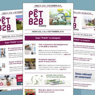 Pet B2B Weekly Abbigliamento