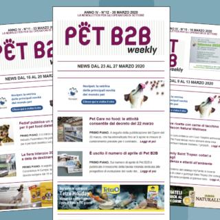 Pet B2B Weekly coronavirus