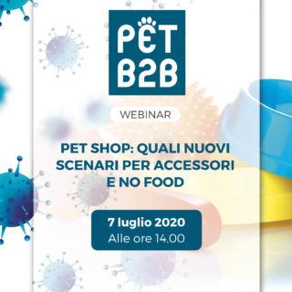 Pet B2B Webinar Accessori