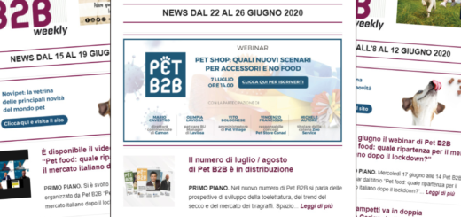 Pet B2B Weekly Pet B2B luglio