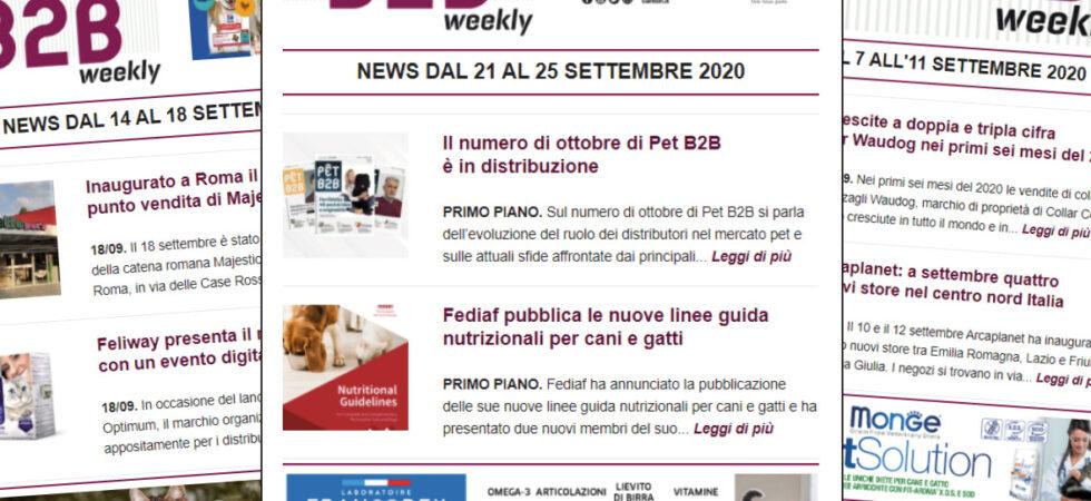 Pet B2B Weekly Pet B2B Ottobre