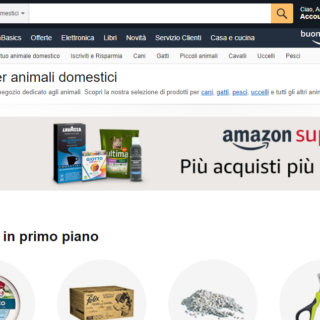Amazon vendite pet care settembre