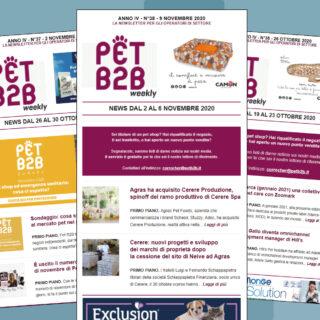 Pet B2B Weekly Cerere Produzione