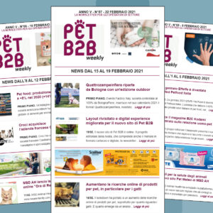 Pet B2B Weekly Quattrozampeinfiera