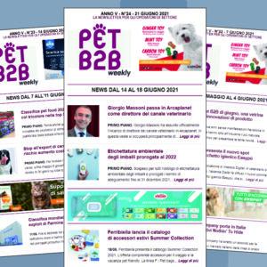 Pet B2B Weekly 21 giugno 2021