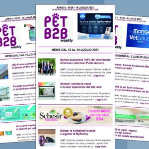 Pet B2B Weekly 19 luglio 2021