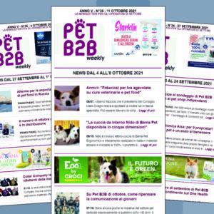 Pet B2B Weekly 11 ottobre 2021